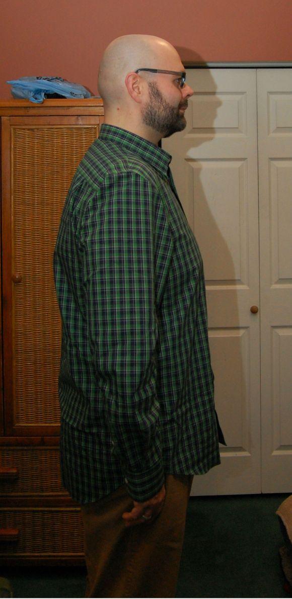 225lbs, 36x32s, XL shirt.